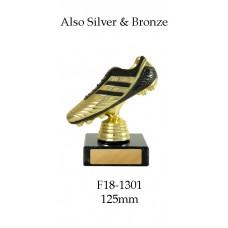 Soccer Trophies F18-1301 - 125mm Long