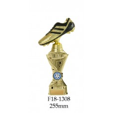 Soccer Trophies F18-1308 - 255mm Also 275mm 295mm 315mm & 3454mm