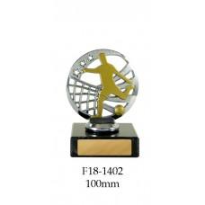Soccer Trophies F18-1402 - 100mm