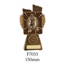 Soccer Trophies Male F7033 - 150mm