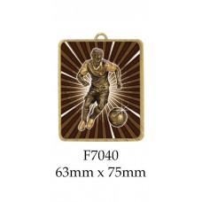 Soccer Medals F7040 - 63mm x 75mm