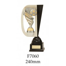 Soccer Trophies F7060 - 240mm Also 260mm & 280mm