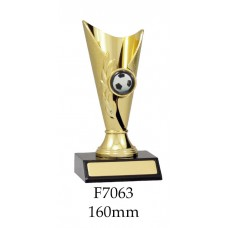 Soccer Trophies F7063 - 160mm Also 180mm & 200mm
