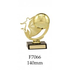 Soccer Trophies F7066 - 140mm Also 190mm 215mm & 240mm