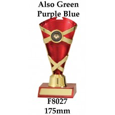 Soccer Trophies F8027 - 175mm Also 195mm & 215mm