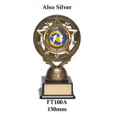Netball Trophies FT100A - 150mm Also 165mm 7 180mm