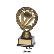 Cricket Trophies FT140A - 150mm Also 1165mm & 180mm