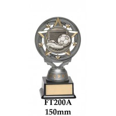 Soccer Trophies FT200A - 150mm Also 165mm & 180mm