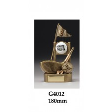 Golf Trophies Nearest the Pin G4012 - 180mm