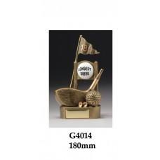 Golf Trophies Longest Drive G4014 - 180mm