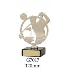 Golf Trophies 7017 - 120mm Also 150mm & 175mm