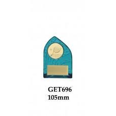 Tennis Trophies GET696 - 105mm