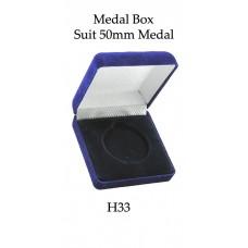 Medals Case H33 - Suit 50mm Medal