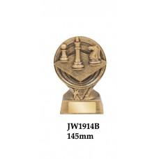Chess Trophies JW1914B - 145mm
