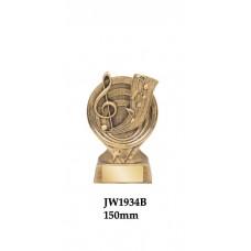Music Trophies JW1934B - 150mm