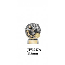 Martial Arts Trophies JW3947A - 135mm Also 150mm