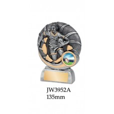 Rugby Trophies JW3952A - 135mm Also 150mm