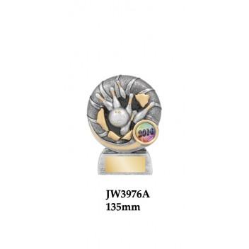 Ten Pin Bowling Trophies JW3976A - 135mm