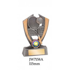 Tennis Trophies JW7158A - 115mm Also 135mm & 155mm