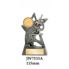 Knowledge Trophies JW7533A - 115mm Also 135mm