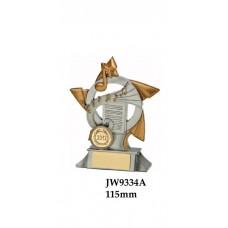 Music Trophies JW9334A - 115mm