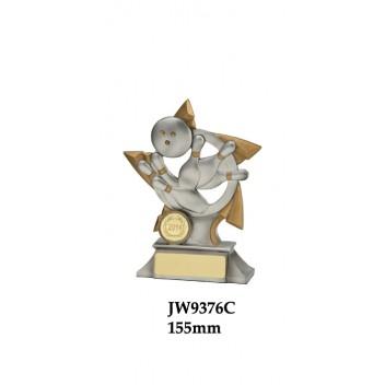 Ten Pin Bowling Trophies JW9376C - 155mm