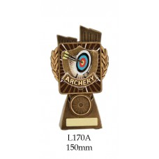 Archery Trophies L170A - 150mm Also 175mm 210mm & 245mm