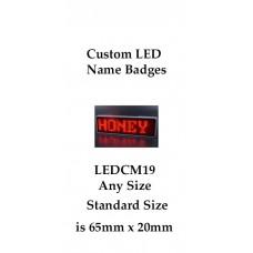 Badges LED Custom