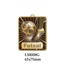 Soccer Medal Futsal LM008G - 63mm x 75mm
