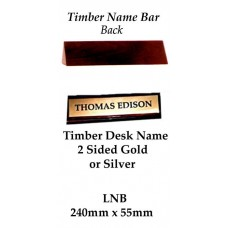 Corporate Awards Desk Name Stand LNB - 240mm x 55mm