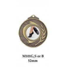 Dance Medals M101G,S or B - 52mm