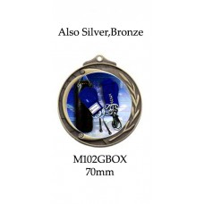 Boxing Medals - M102GBOX - 70mm