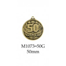 Medals 50 Games - 1073G-50G - 50mm