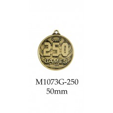 Medals 250 Games - M1073G-250G - 50mm