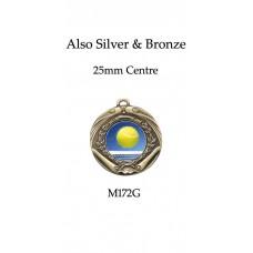 Tennis Medals M172G,S,B - 45mm