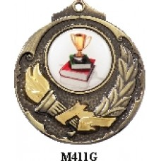Medals Any Logo M411G, S or B - 25mm Centre