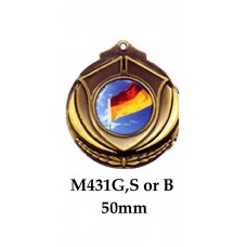 Surf Life Saving Medals M431G, S or B - 50mm