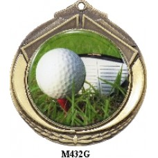 Medals Any Logo M432G, S or B - 50mm Centre