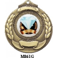 Medals Any Logo M861G, S or B - 25mm Centre