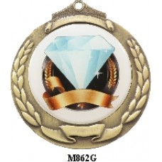 Medals Any Logo M862G, S or B - 50mm Centre