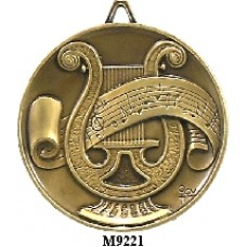 Music Medals M9221 - 64mm