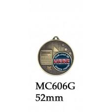 Achievement Medals MC605G - 52mm
