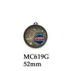 Science Medals MC619G - 52mm