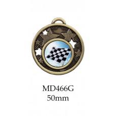 Motorsport Medals MD466G, S or B - 50mm