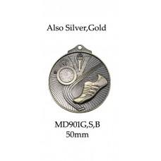 Athletics Medals MD901G,S,B - 50mm