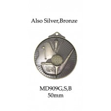 Golf Medals MD909G, S or B - 52mm