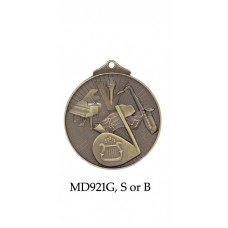 Music Medals MD921G - 52mm
