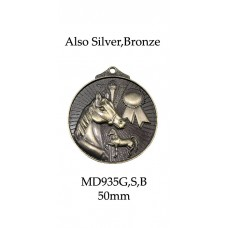 Equestrian Medals MD935G,S or B - 52mm