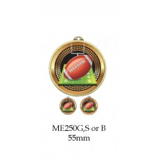 Grid Iron Medal ME250G, S or B - 55mm