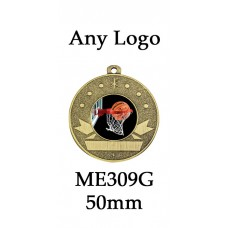 Medals Any Logo ME309G, S or B - 25mm Centre